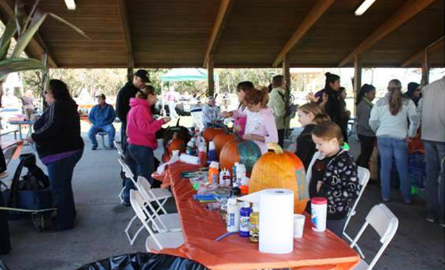 Pumpkin Decorating Pavilion – Sponsored by Whole Foods Market