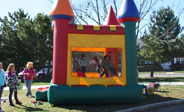 (Bounce Tent) Pumpkin Playground – Sponsored by TD Bank
