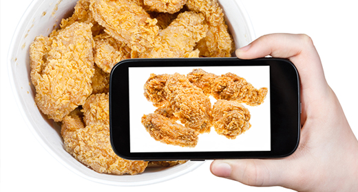 KFC Now Serving Wireless Tray Typer: Keeps Your Smartphone Grease Free