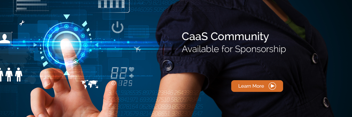 I am interested in sponsoring the CaaS Community